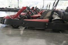 Go-cart in indoor stadium Stock Photo