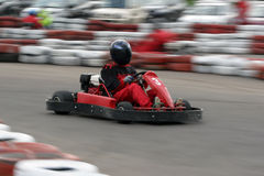 Go cart race Stock Photos