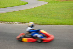 Go-cart racing Royalty Free Stock Photos