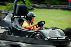Go Cart Racing Stock Photos