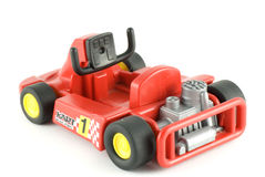 Go-cart racing car toy Royalty Free Stock Photo