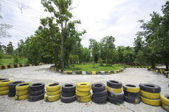 Go cart track in Thailand Stock Photos