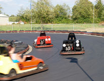 Go Carts Royalty Free Stock Photos