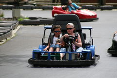Go carts Royalty Free Stock Photography