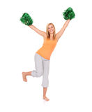 Go Cheerleaders ! Stock Photography