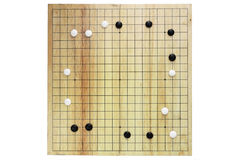 GO chinese boardgame Royalty Free Stock Photos