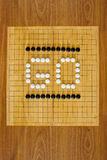 GO chinese boardgame Stock Image