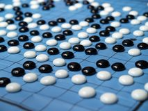 a go chinese checker game  Royalty Free Stock Image
