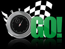 Go chronometer Royalty Free Stock Images