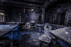 gości pokoje po wielkiego ogienia Fotografia Stock