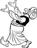 Gościnny Arab royalty ilustracja