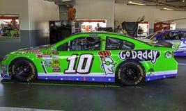 Go Daddy Racecar Stock Image