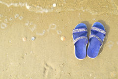 Go entspannen sich am Strand Lizenzfreies Stockbild