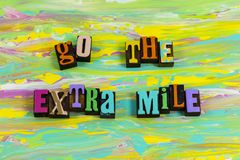 Free Go Extra Mile Distance Effort Try Work Hard Harder Royalty Free Stock Photography - 161295967
