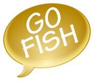 Go fish bubble Stock Images