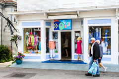 Go Fish, Commercial Street, Provincetown, MA. Stock Photos