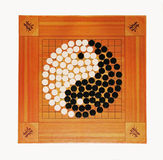 Go game. The game of go is ancient Chinese game Royalty Free Stock Photography