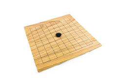 Go game. The ancient Chinese board game Stock Photo