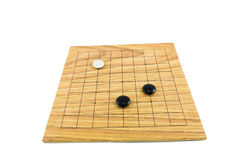 Go game. The ancient Chinese board game Stock Images