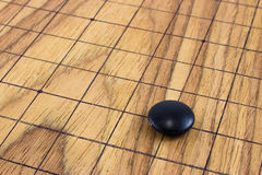 Go game. The ancient Chinese board game Royalty Free Stock Photos