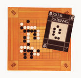 Go. The game of go is ancient Chinese game Royalty Free Stock Photos