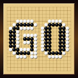 Go Game Board Word Gobang Gomoku Royalty Free Stock Photo