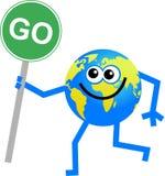 Go globe Royalty Free Stock Image