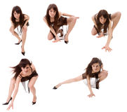 Go-go dancer Stock Image