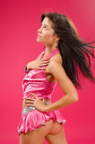 Go-go dancer Stock Photo