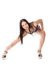 Go-go dancer Royalty Free Stock Image