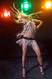 Go-go dancer Stock Image