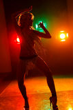 Go-go dancer Royalty Free Stock Photography