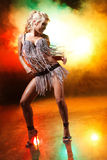 Go-go dancer Royalty Free Stock Photo