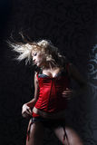 Go-go dancer Royalty Free Stock Images