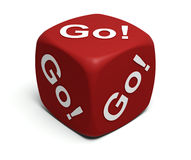 Go! Go! Go! Royalty Free Stock Images