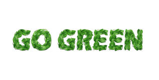 Go green Royalty Free Stock Photography