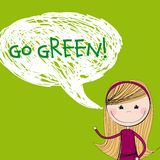 Go green Stock Photos