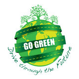 GO GREEN Royalty Free Stock Photos