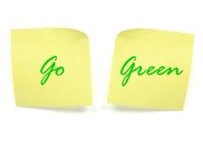 Go green Stock Photos