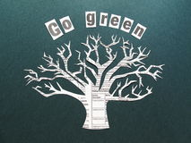 Go green Royalty Free Stock Photo