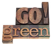 Go green! Stock Images