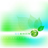 Go Green Background Royalty Free Stock Photos