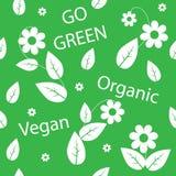 Go green background Stock Photo