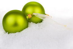 Go green this Christmas Royalty Free Stock Photography