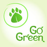 Go green! Stock Image