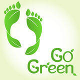 Go green! Royalty Free Stock Photo