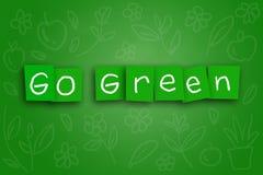 Go Green Concept Stock Image