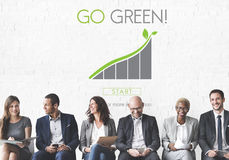 Go Green Conservation Natural Resources Eco Concept stock photo