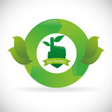 Go green design Royalty Free Stock Photography