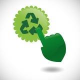 Go green design Stock Photo